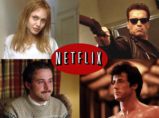 Netflix, Terminator, Girl Interrupted, Lars and the Real Girl, Rocky