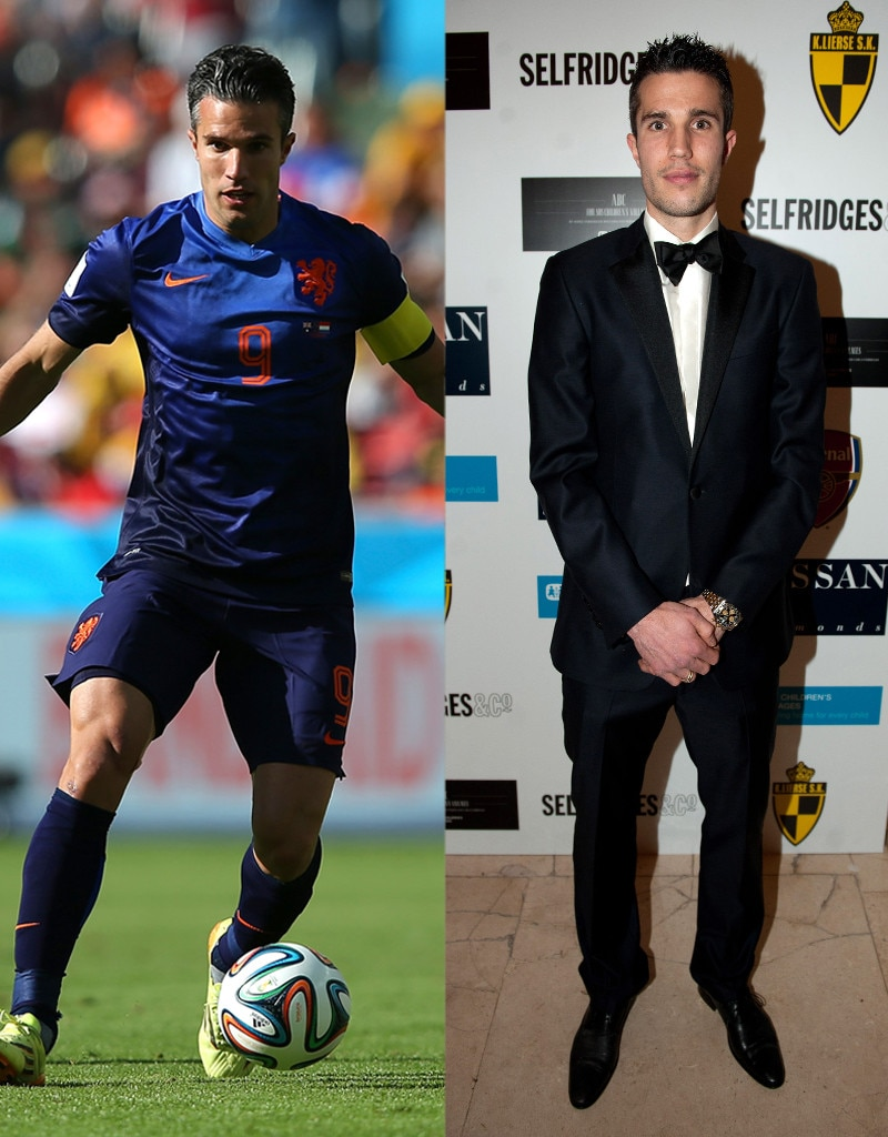 Robin Van Persie, On and Off the Field