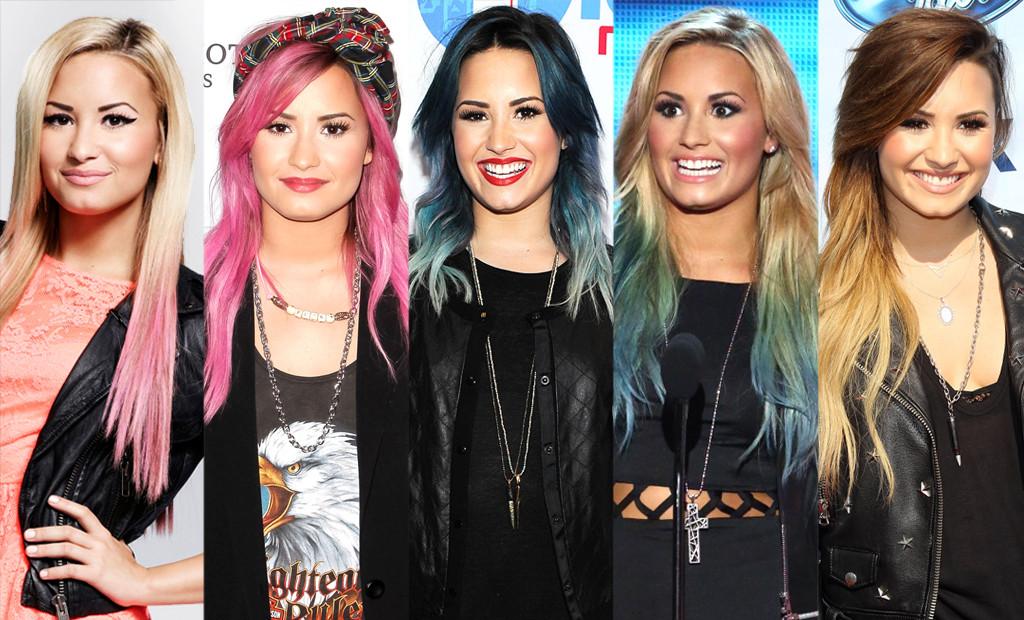 Demi Lovato, Hair