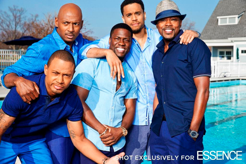 Terrence J., Kevin Hart, Michael Ealy, Romany Malco, Will Packer, Essence
