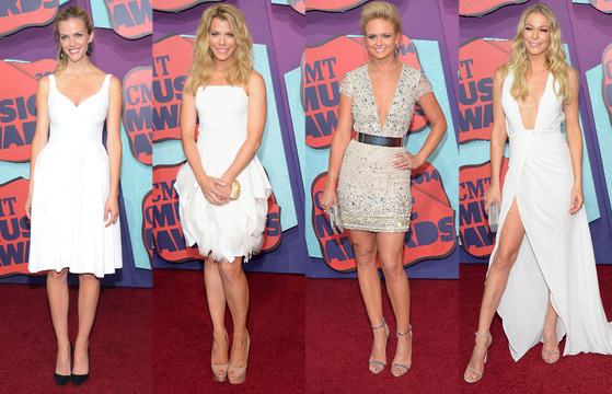 Leann Rimes, Miranda Lambert, Kimberly Perry, Brooklyn Decker, CMT Awards