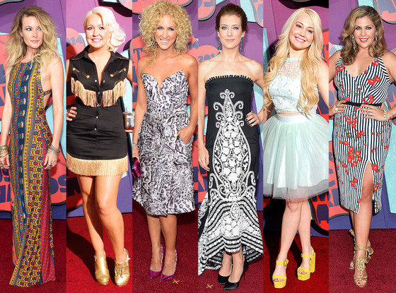 Kimberly Schlapman, Kate Walsh, Raelynn, Hillary Scott, Meghan Linsey, Elizabeth Cook, CMT Awards, Worst Dressed