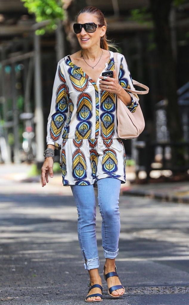 Sarah Jessica Parker Wears Carrie Bradshaw-Inspired