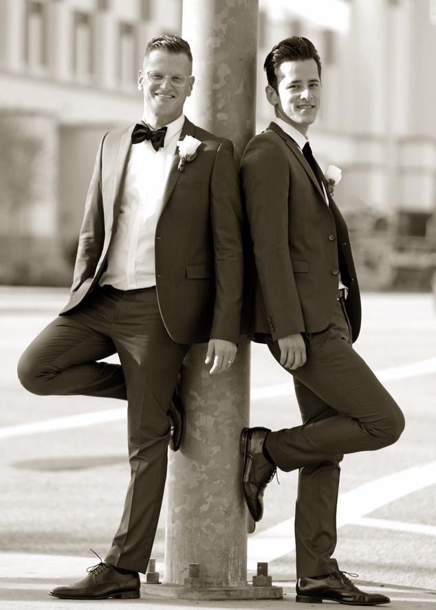 Marc Malkin, Wedding