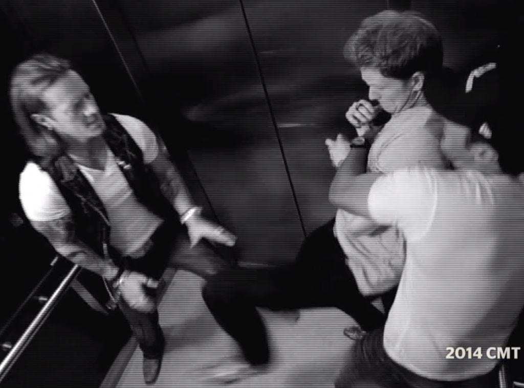 Luke Bryan, Florida Georgia Line, Elevator Fight, CMT Music Awards