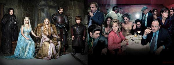Sopranos, Game of Thrones