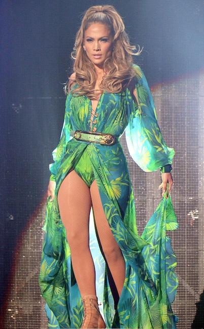 Jennifer Lopez, Bronx Concert, Versace