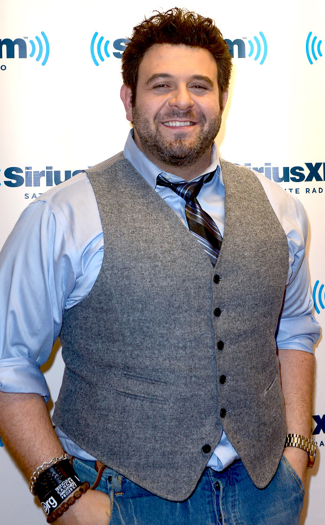 Man v. Foods Adam Richman Poses Naked After Big Weight
