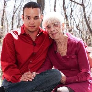 31 year old man dating 91 year old woman