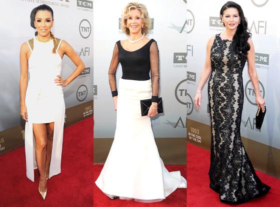 Jane Fonda, Eva Longoria, Catherine Zeta Jones