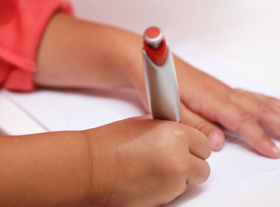 Child Writing Letter