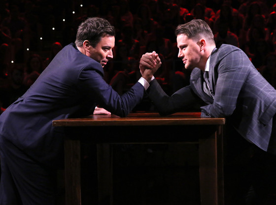 Channing Tatum, Jimmy Fallon