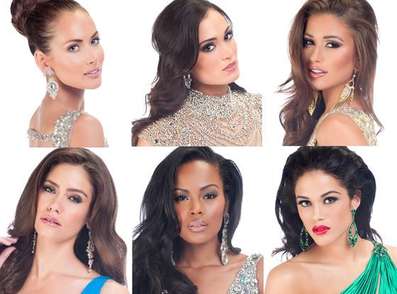 Top 6, Miss USA 2014