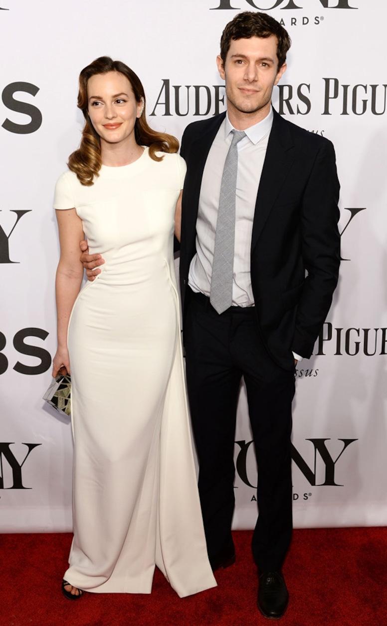 Leighton Meester, Adam Brody, Tony Awards