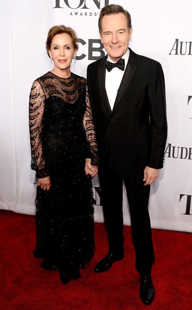 Robin Dearden, Bryan Cranston, Tony Awards