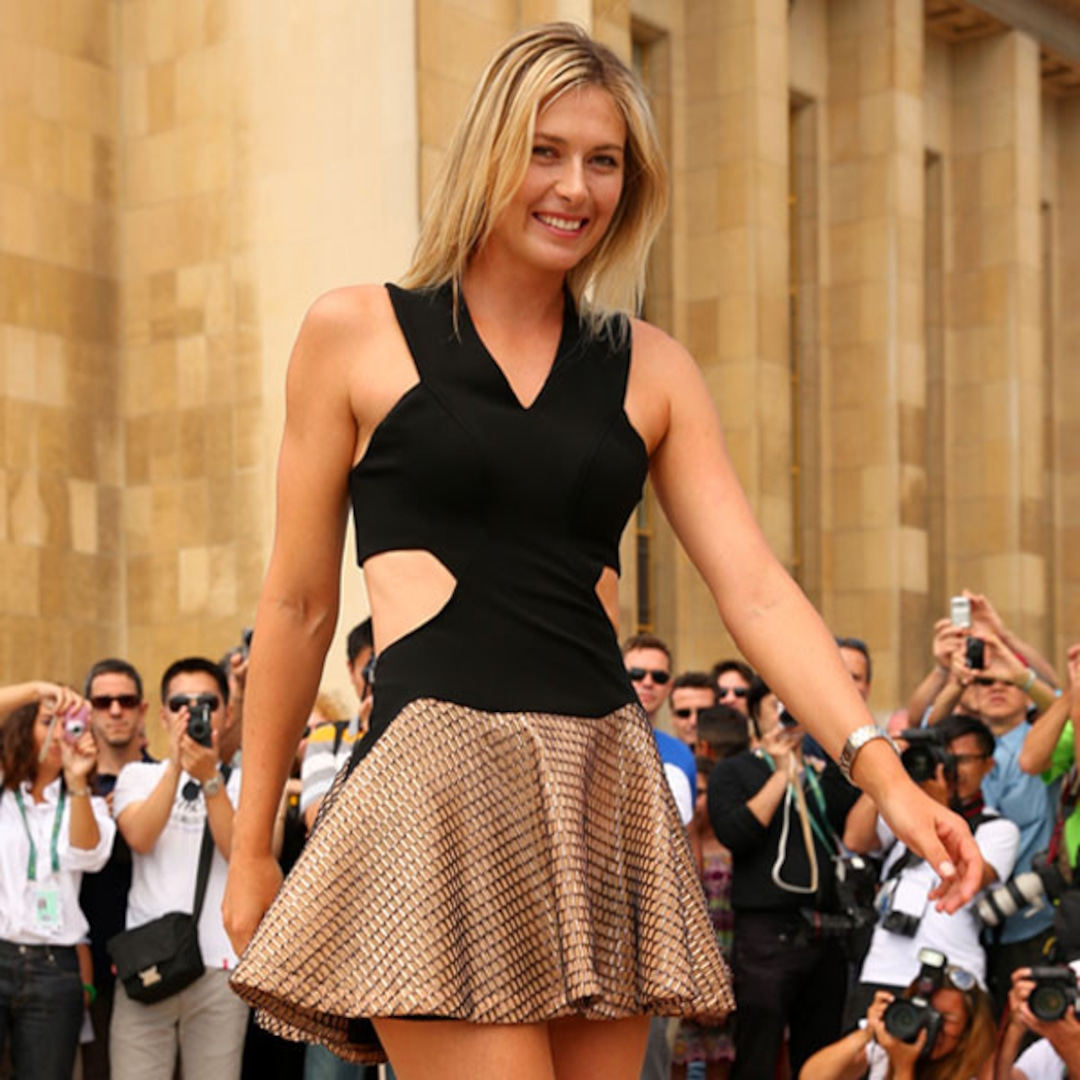 Maria Sharapova in the Incredible Shrinking Dress—See the