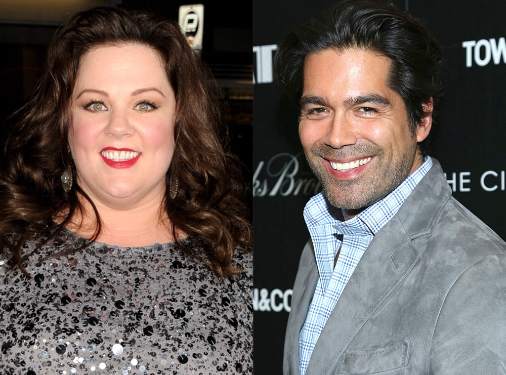 Melissa McCarthy & Brian Atwood -  The funny lady and the shoe designer went to high school together and shared an apartment in Hell's Kitchen.