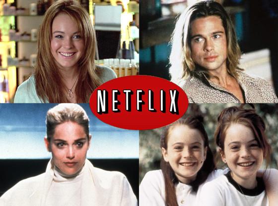 Mean Girls, Legends of the Fall, Parent Trap, Basic Instinct, Netflix