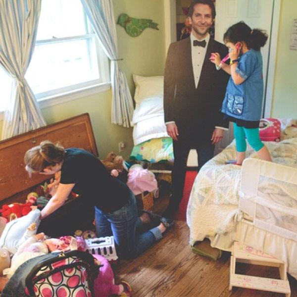 My Life With Bradley Cooper, Instagram