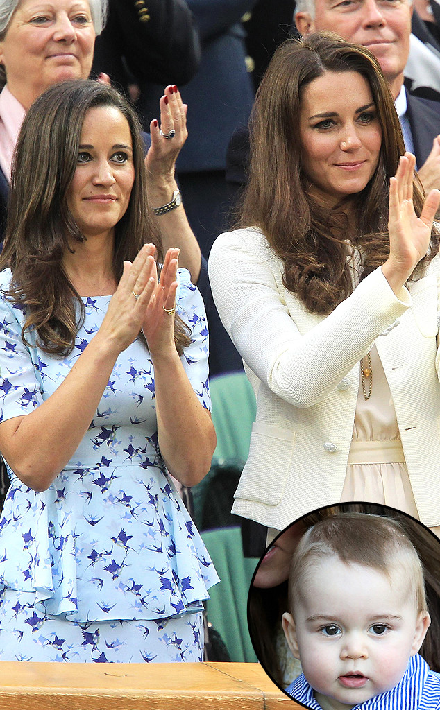 Pippa Middleton, Kate Middleton, Prince George