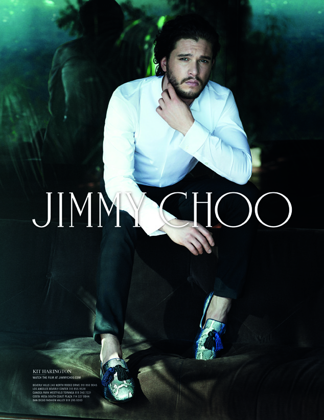 Kit Harington, Jimmy Choo