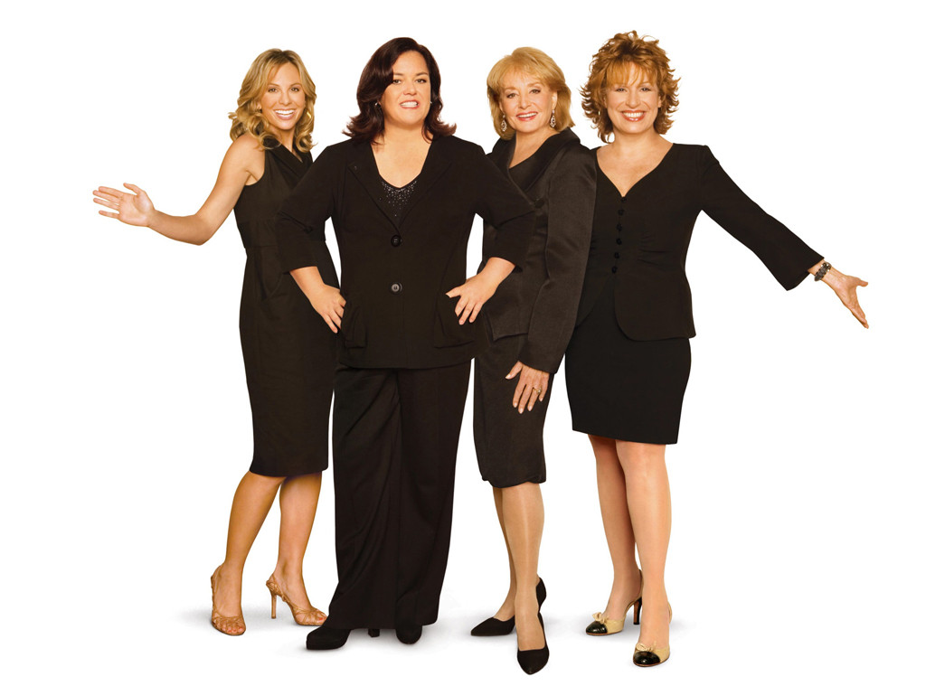The View, Barbara Walters, Joy Behar, Elisabeth Hasselbeck, Rosie O'Donnell