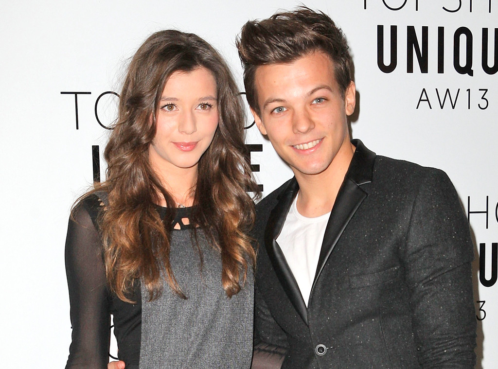 Louis Tomlinson From One Direction and Girlfriend Eleanor