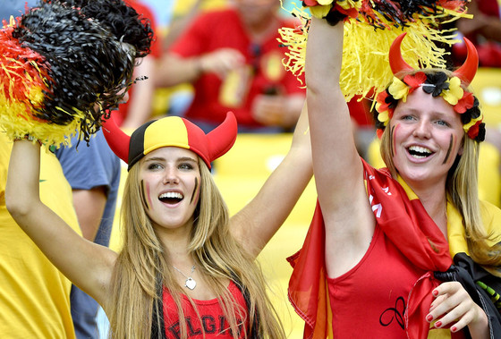 Axelle Despiegelaere, Belgium Soccer Fan