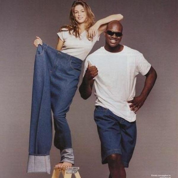 Cindy Crawford, Shaquille O'Neal, TBT, Twitter