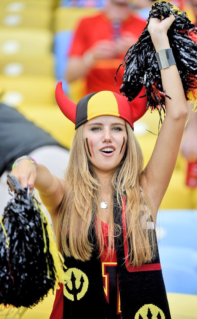 Valuable World cup fans hot girls