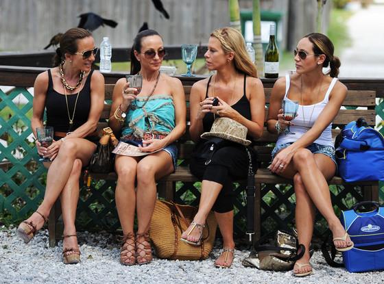 Nicole Napolitano, Teresa Aprea, Dina Manzo, Melissa Gorga