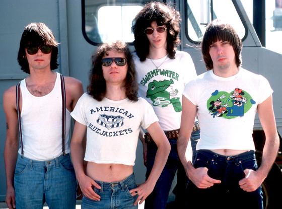Dee Dee Ramone, Tommy Ramone, Joey Ramone and Johnny Ramone