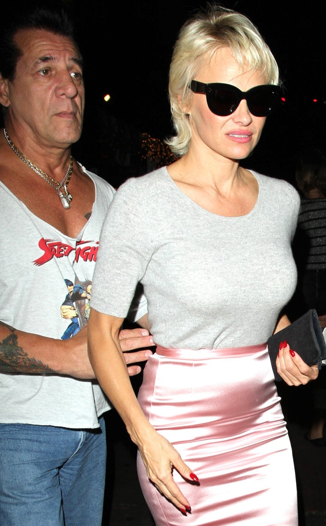 Pamela Anderson Amp Chuck Zito From The Big Picture Today S
