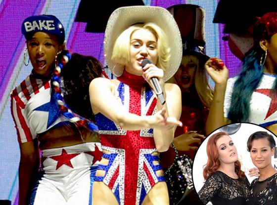 Miley Cyrus, Icona Pop