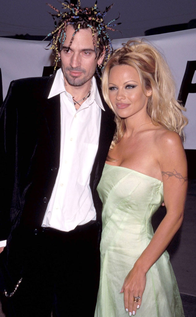 Pamela Anderson & Tommy Lee from Whirlwind Weddings | E! News