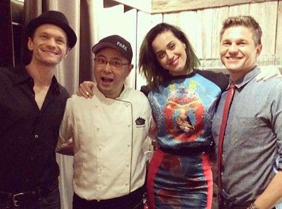 Katy Perry, Neil Patrick Harris, Twitter