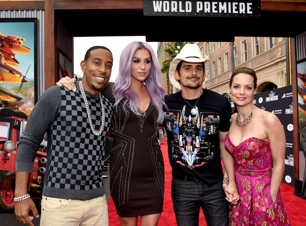 Ludacris, Kesha, Brad Paisley, Kimberly Williams-Paisley