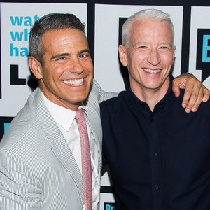 Andy Cohen, Anderson Cooper