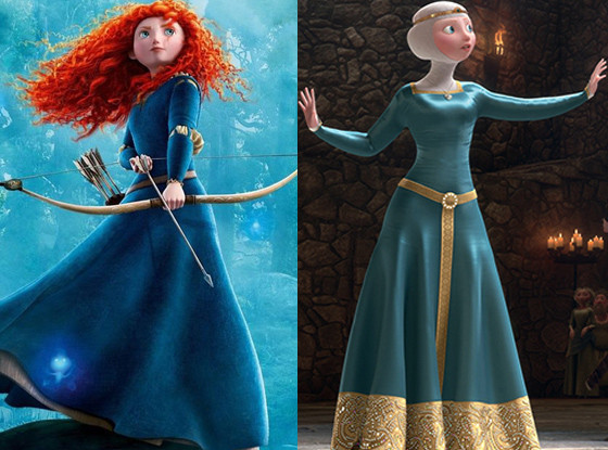 Merida, Brave Disney Princesses Wardrobe