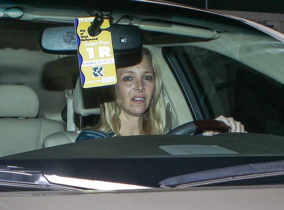 Jennifer Aniston, Courteney Cox, Lisa Kudrow Dinner