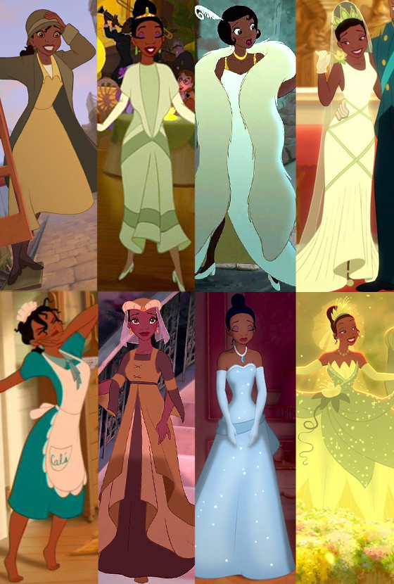 Tiana, The Princess and the Frog, Disney Princess Wardrobe