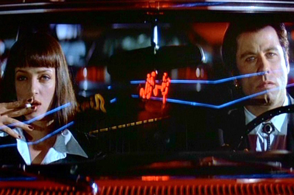 Pulp Fiction, Uma Thurman, John Travolta