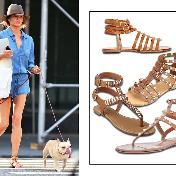 Chrissy Tiegans Nude Gladiator Sandal From All The Summer Shoes Youll Ever Need  E -1020