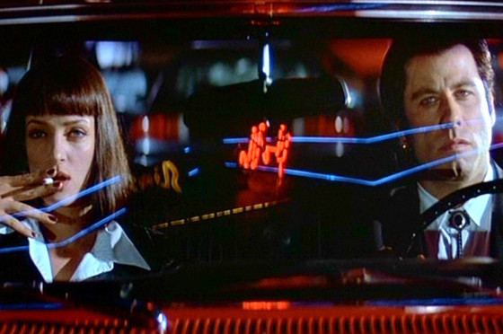 Pulp Fiction, Uma Thurman, John Travolta