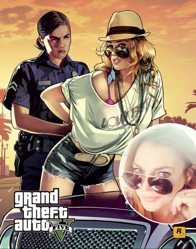 Grand Theft Auto V, Lindsay Lohan