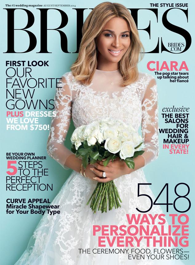 Ciara covers brides magazine talks wedding plans im going to do ciara brides junglespirit Images