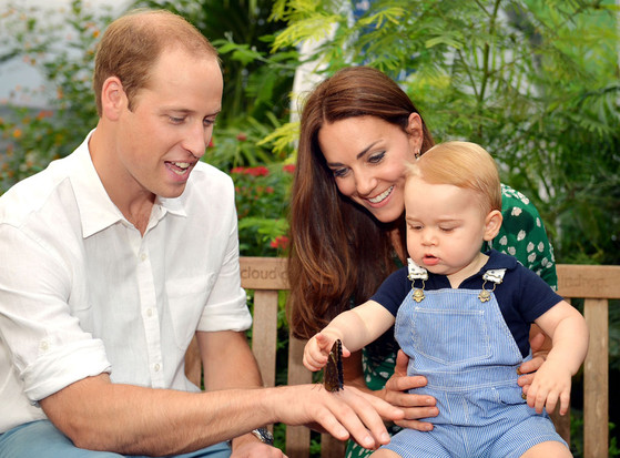 Prince George, Kate Middleton, Prince William
