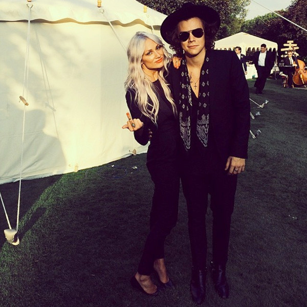 Lou Teasdale, Harry Styles Instagram