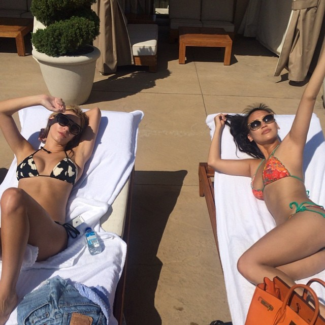 Morgan Stewart and Dorothy Wang's Latest Pics