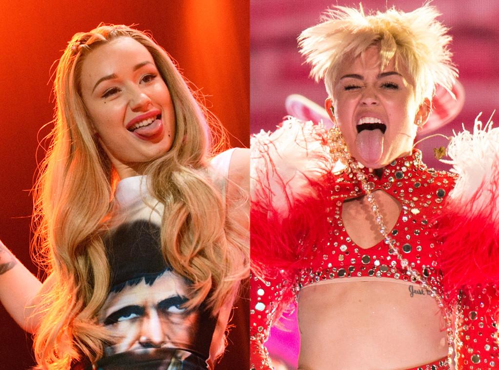 Miley Cyrus, Iggy Azalea